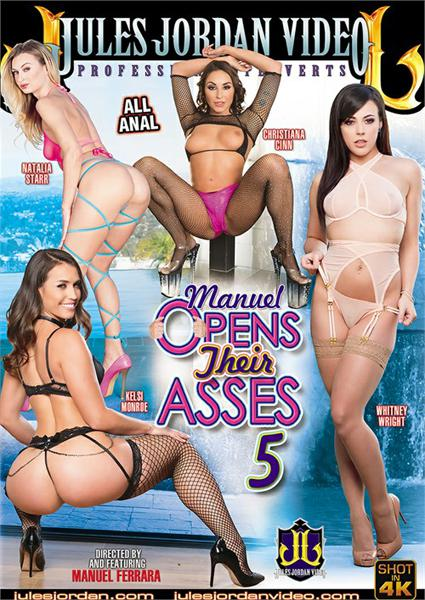 Manuel Opens Their Asses 5 Box Cover