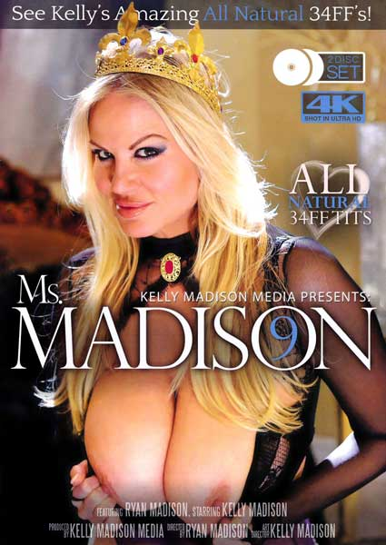 Ms. Madison 9 (Disc 1) Box Cover
