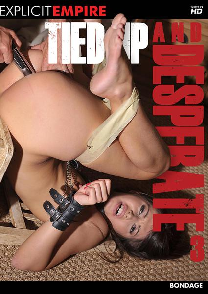 Tied Up And Desperate 3 Box Cover