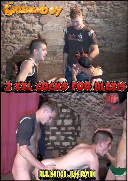 2 XXL Cocks For Alexis Box Cover
