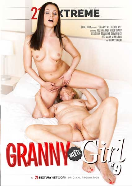 Granny Meets Girl #9 Box Cover
