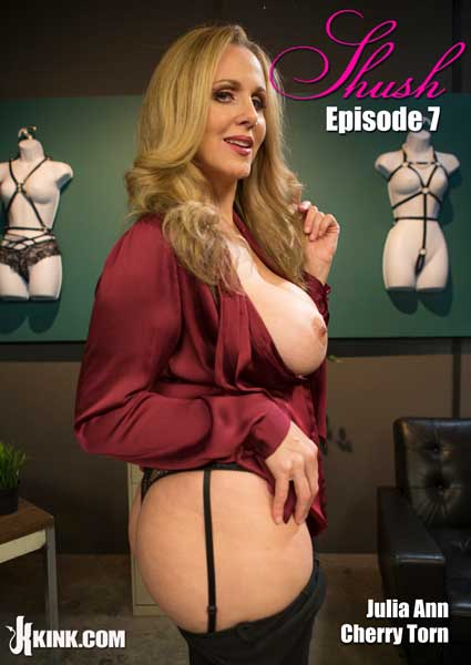 Shush Episode 7 - Julia Ann Takes Down Cherry Torn Box Cover