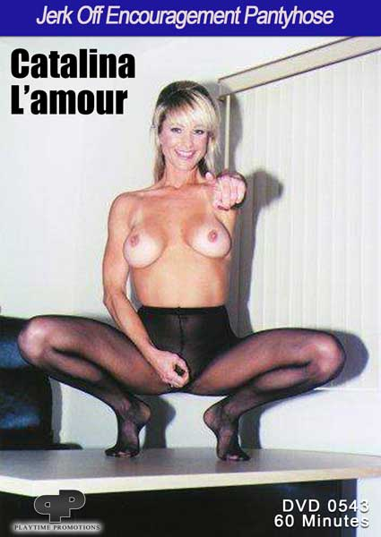 Catalina L'amour Jerk Off Encouragement Pantyhose Box Cover