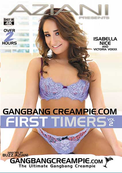 Gangbang Creampie First Timers Vol. 2 Box Cover