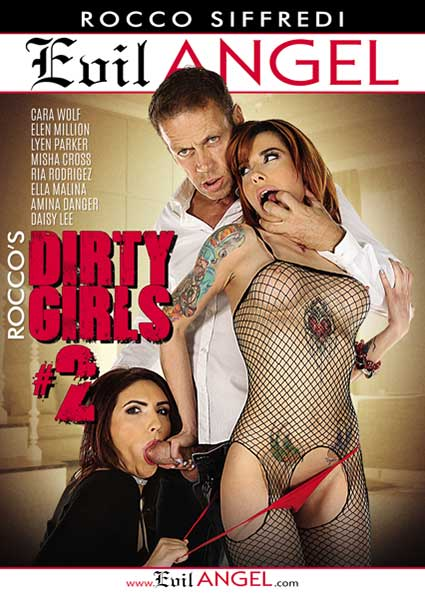 Rocco's Dirty Girls 2 Box Cover