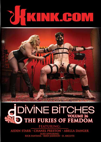 Divine Bitches Volume 26 - The Furies Of Femdom Box Cover