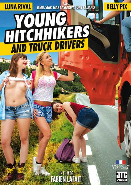 Young Hitchhikers And Truck Drivers (French) Box Cover
