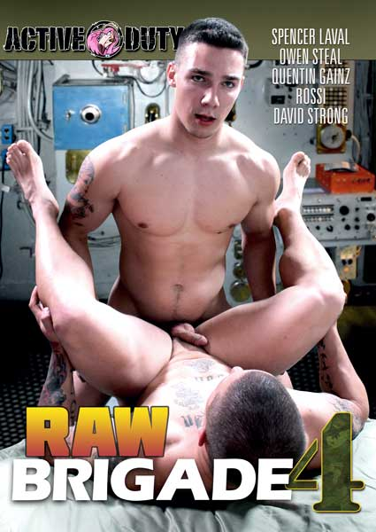 Raw Brigade #4 Box Cover
