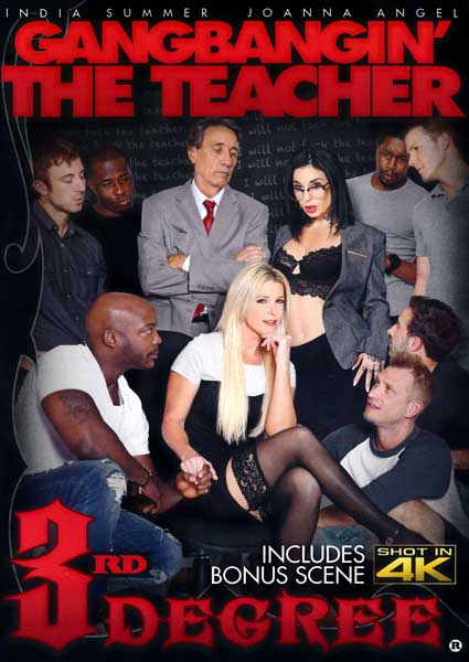 Gangbangin' The Teacher Box Cover