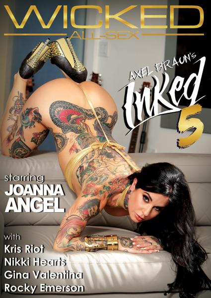 Axel Braun's Inked 5 Box Cover