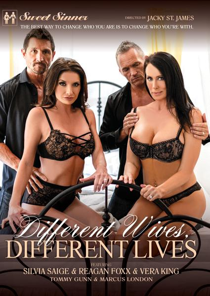 Different Wives, Different Lives Box Cover