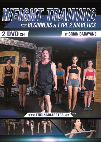 Weight Training  For Beginners and Type 2 Diabetics Box Cover