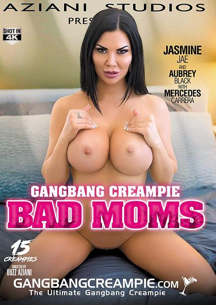 Gangbang Creampie: Bad Moms Box Cover