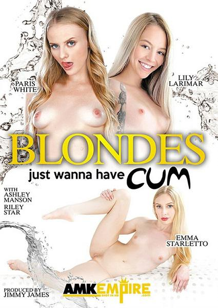 Blondes Just Wanna Have Cum Box Cover