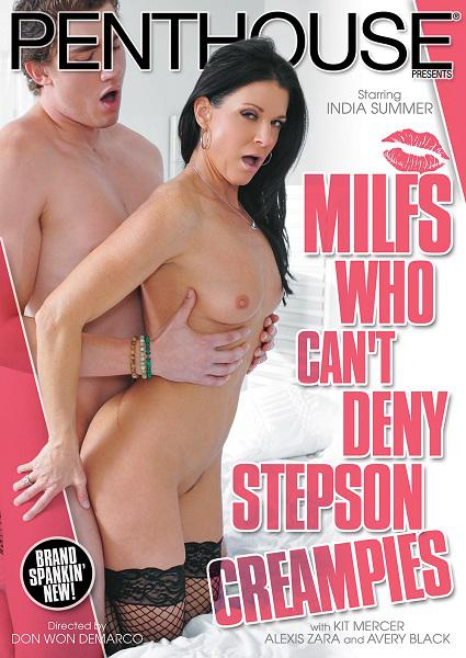 MILFs Who Can't Deny Stepson Creampies Box Cover