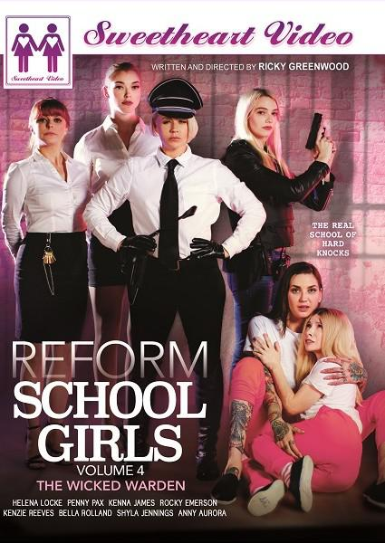 Reform School Girls Volume 4 Box Cover - Login to see Back