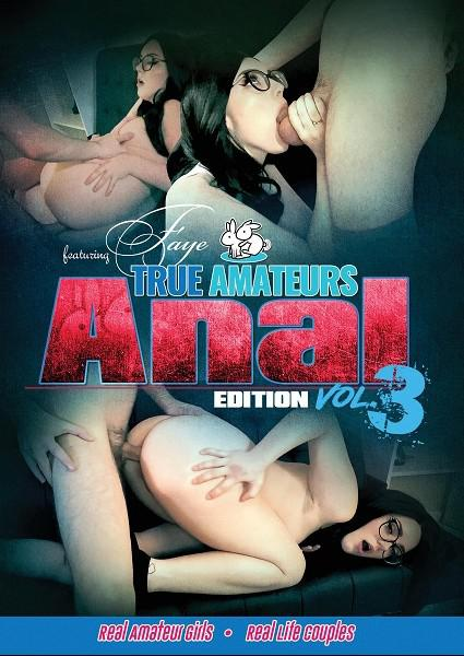 True Amateurs: Anal Edition Vol. 3 Box Cover - Login to see Back