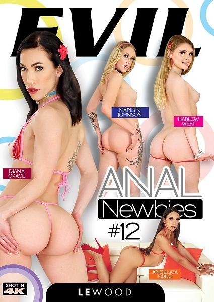 Anal Newbies 12 Box Cover