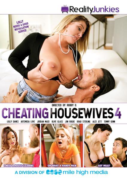 Cheating Housewives 4 Box Cover - Login to see Back