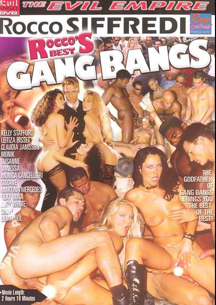 Rocco's Best Gang Bangs Box Cover