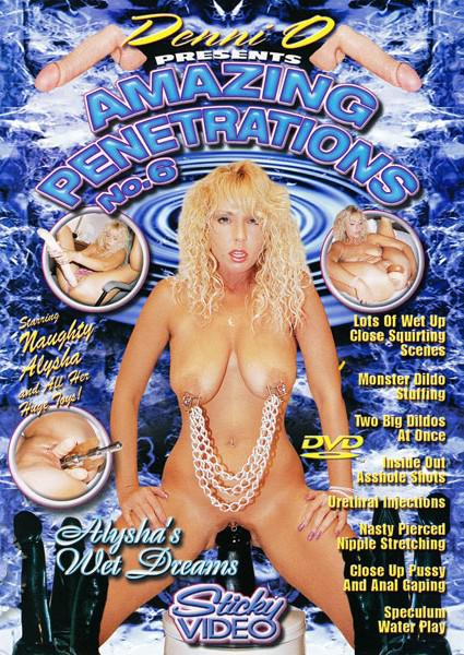 Amazing Penetrations 6: Alysha's Wet Dreams Box Cover