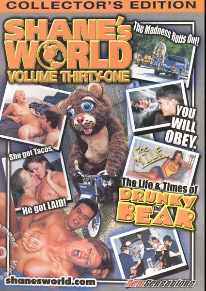 Shane's World 31 - The Life & Times of Drunky the Bear Box Cover