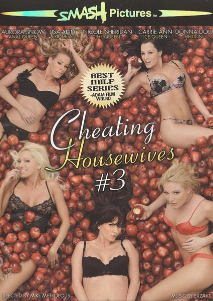 Cheating Housewives #3 Box Cover