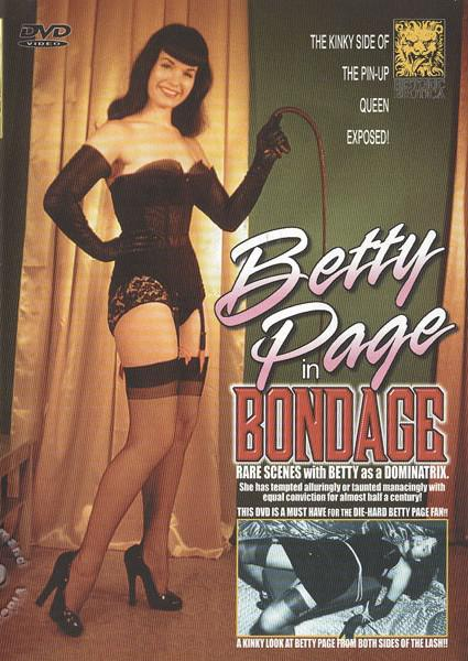 Betty Page In Bondage Box Cover