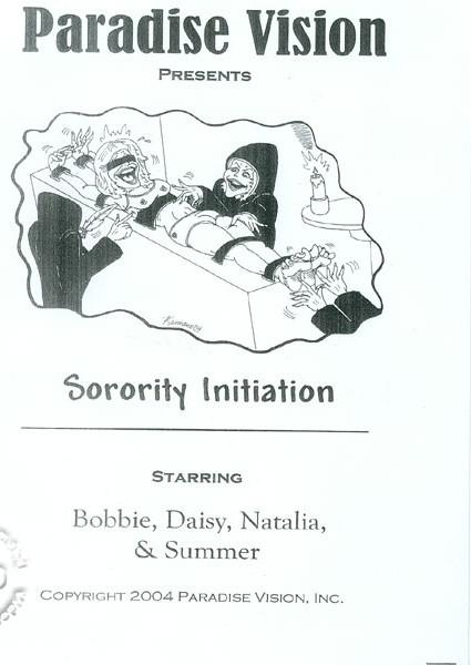 Sorority Initiation Box Cover