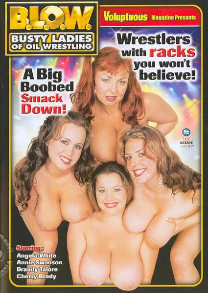 B.L.O.W. - Busty Ladies Of Oil Wrestling Box Cover
