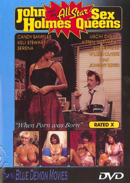 John Holmes And The All Star Sex Queens Box Cover