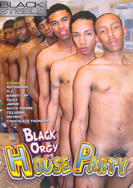 Black Orgy House Party  Gay Hot Movies-6881