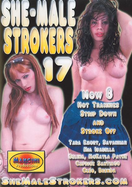 She-Male Strokers 17 Box Cover