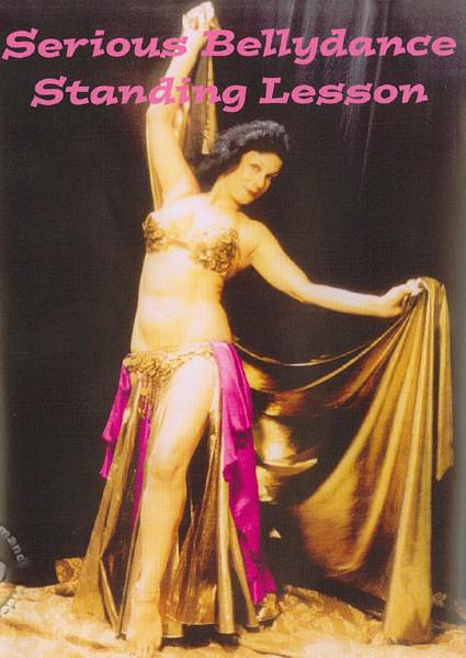 Serious Bellydance Standing Lesson Box Cover