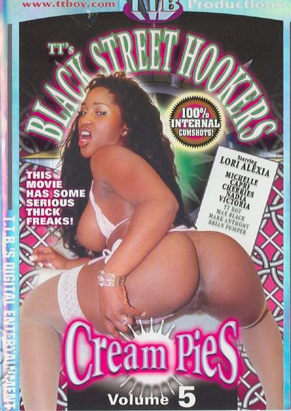 Black Street Hookers Cream Pies Volume 5 Box Cover