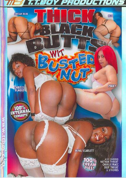 Thick Black Butts Wit Busted Nut Box Cover