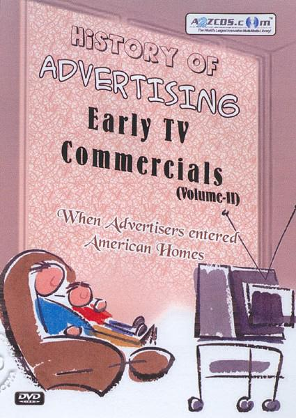 History Of Advertising - Early TV Commercials (Volume II) Part 2 Box Cover