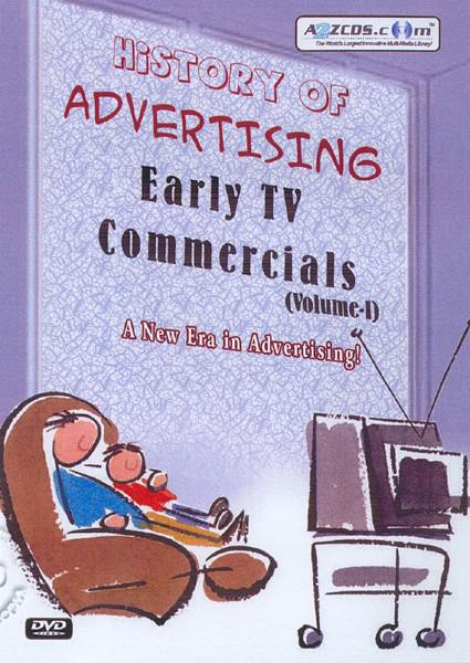 History Of Advertising Early TV Commercials (Volume - II) Part 1 Box Cover